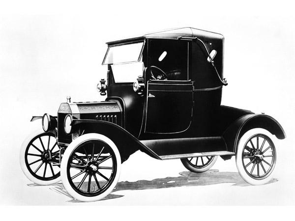 1917 Ford Model T: In 1917 Ford introduced the first major redesign of the Model T. From the collections of The Henry Ford and Ford Motor Company. (04/21/08)